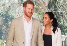 cropped Prince Harry and Meghan Markle are very much in love Image Getty