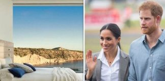 cropped Prince Harry and Meghan spent six days with Archie Harrison in Ibiza Image INSTAGRAM VILLASACALMA GETTY