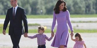 cropped Prince William and Kate will accompany Princess Charlotte and Prince George Photo C GETTY IMAGES