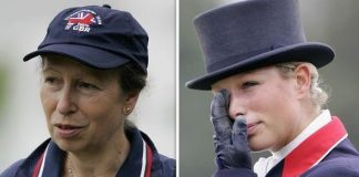 cropped Princess Anne and Zara Image GETTY