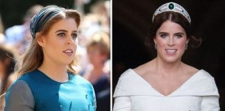 cropped Princess Beatrice Princess Eugenie Image Getty