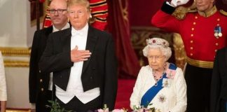 cropped Queen news Donald Trump visited the UK on a formal state visit in June this year Image Getty