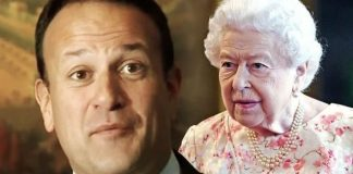 cropped Royal news Leo Varadkar addresses controversy over removal of Queen Elizabeth II portrait Image BBC GETTY