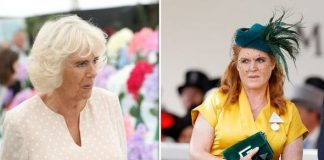 cropped The Duchess of Cornwall and the Duchess of York Image Getty