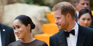 cropped The Duke and Duchess of Sussex will be known as the Earl and Countess of Dumbarton Image GETTY