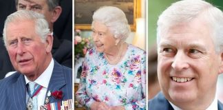 cropped The Prince of Wales the Queen and the Duke of York Image Getty