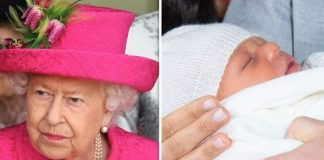cropped Will Meghan Markle's son have to bow to his great grandmother the Queen Image GETTY