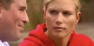cropped Zara Tindall nee Phillips gives her brother a look Image YouTube homeleigh