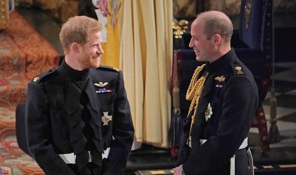 A Royal expert claimed it would be a tragedy for Harry and William to lose their brotherly love Image Getty Images