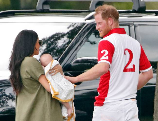 Archie is going to Africa with the Duke and Duchess of Sussex Photo C GETTY IMAGES