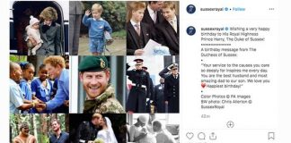 Baby Archie photos Image Instagram Sussex Royal Meghans touching Instagram tribute