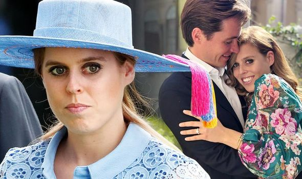 """Beatrice was increasingly angry at the """"appalling"""" way her mother Sarah Ferguson was being treated Image GETTY"""