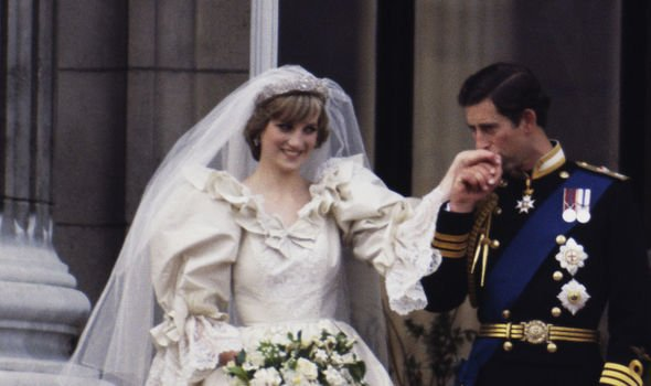 Camilla and Prince Charles snub Princess Diana and Prince Charles on their wedding day Image Terry Fincher Princess Diana Archive Getty Images