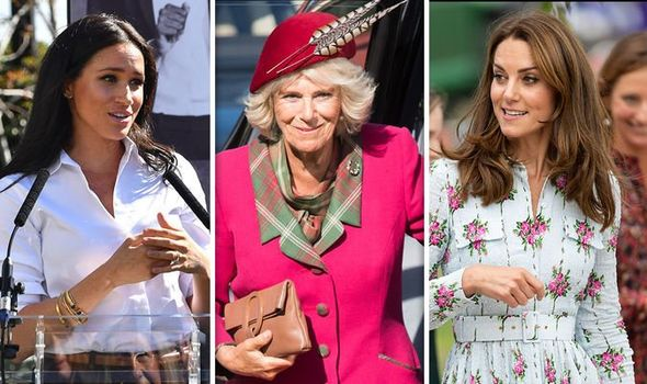 Camilla news Camilla has a bit of banter claimed Camilla Tominey Image Getty