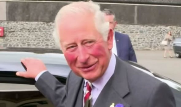 Camilla news Prince Charles also joked about the Ashes Image Nine News Australia