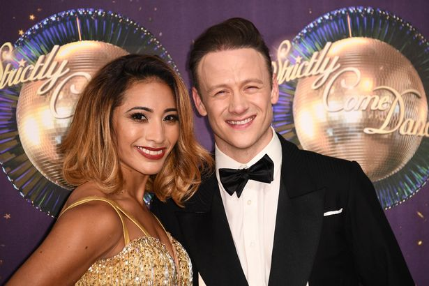 Dancers Karen and Kevin Clifton Image Getty Images