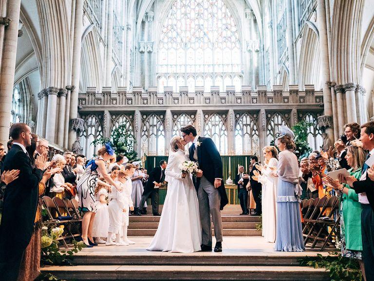Ellie Gouldings Wedding Dress Was Designed By Chloé Photo C MATT PORTEOUS