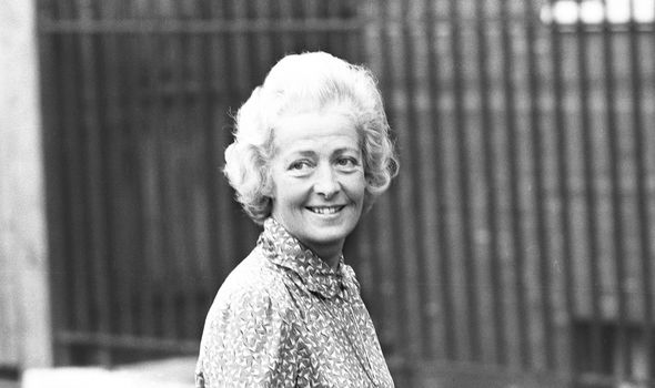 Frances Shand Kydd Dianas mother Image GETTY