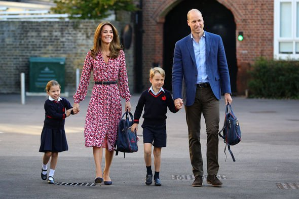 George's classmates at his £k a year school had to be cleared by security personnel for playdates Image GETTY
