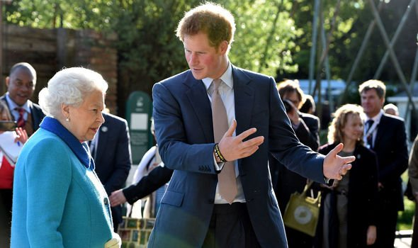 Harry began taking up mpore senior royal duties in support of the Queen in Image Getty