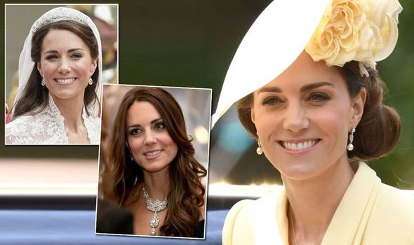 Kate Middleton Jewellery from the Royal Collection Kate has worn but Meghan has not Image Getty Images