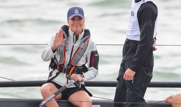 Kate Middleton Kate broke protocol by wearing shorts Image GETTY