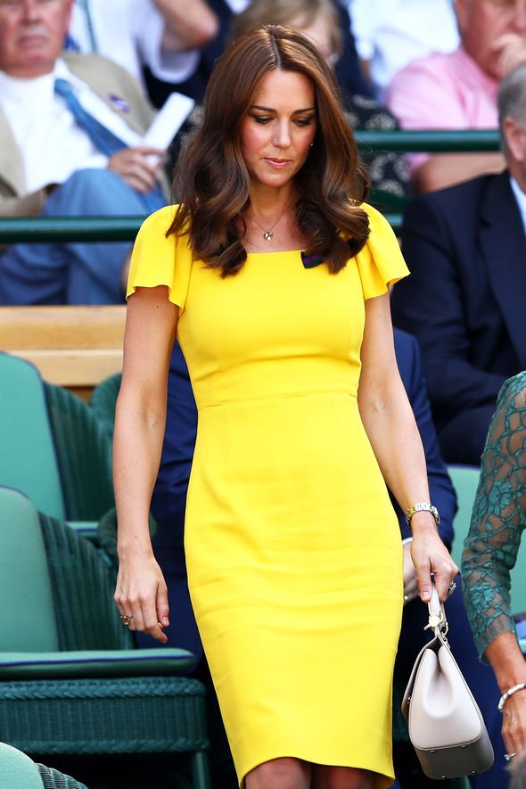 Kate Middleton She showed off the ring again as she attended Wimbledon in Image GETTY