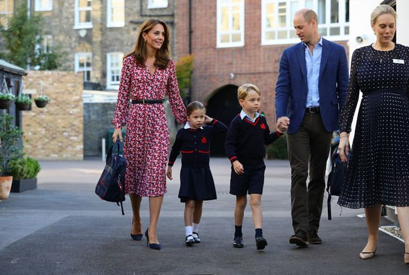 Kate Middleton heartbreak Charlotte is said to be more confident than her big brother Image GETTY