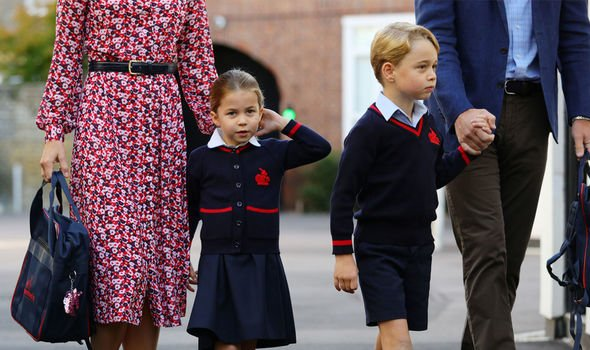 Kate Middleton lip reading Prince George aged six has been a student at St Thomas's for the last two years Image Aaron Chown WPA Pool Getty Images