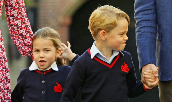 Kate Middleton lip reading Princess Charlotte wore the school uniform of Thomas's Image Aaron Chown WPA Pool Getty Images
