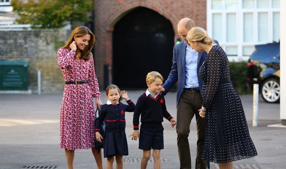 Kate Middleton lip reading The family met with Thomas's head of lower school Image Aaron Chown WPA Pool Getty Images