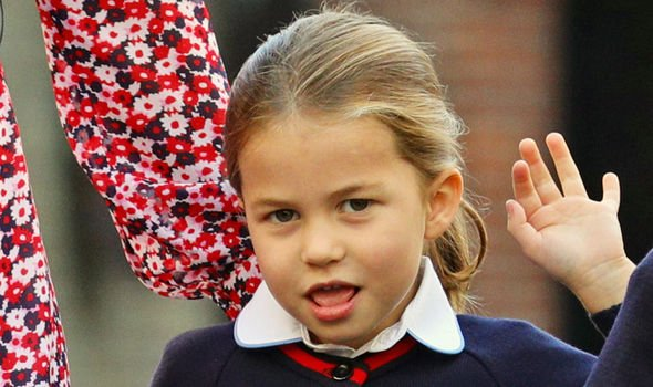 Kate Middleton news Princess Charlotte had her first day of school earlier this month Image Getty