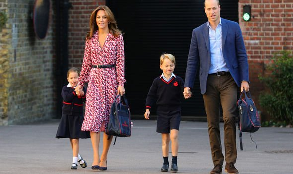 Kate Middleton news the Duchess wore a £ Michael Kors dress Image Getty