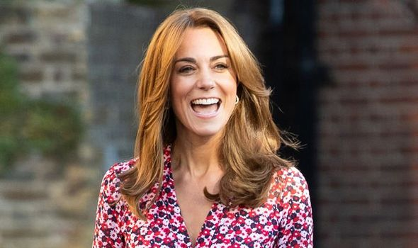 Kate Middleton news the Duchess wore a high street dress on a royal outing for the first time Image Getty