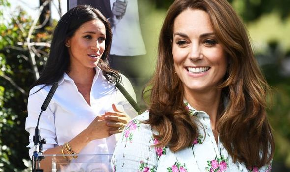 Kate Middleton vs Meghan Markle Duchess of Cambridge's wardrobe costs more Image GETTY