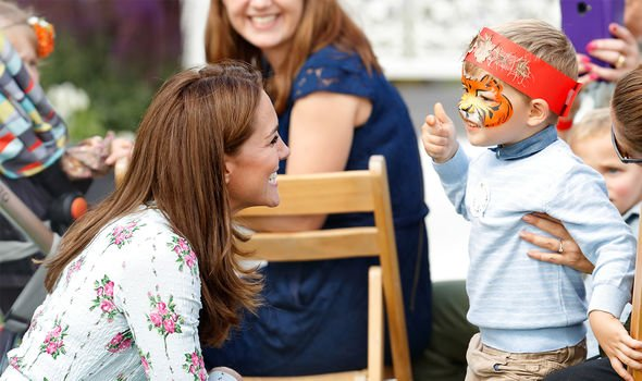 Kate has shown her commitment to several causes aimed at improving childrens lives Image GETTY