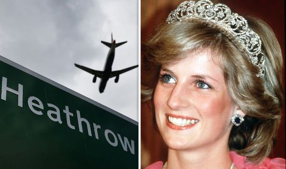 Lindsay Hoyle called for Heathrow Airport to be re named after Princess Diana Image GETTY