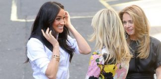 Meghan Markle Meghan felt she was with people she considers friends her body language showed Image Getty Images
