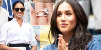 Meghan Markle When Meghan and Harry got engaged the former actress was given a trilogy ring Image GETTY