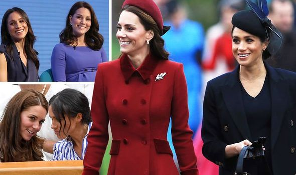 Meghan Markle and Kate Middleton Image GETTY