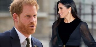 Meghan Markle and Prince Harry have both shunned royal tradition Image GETTY