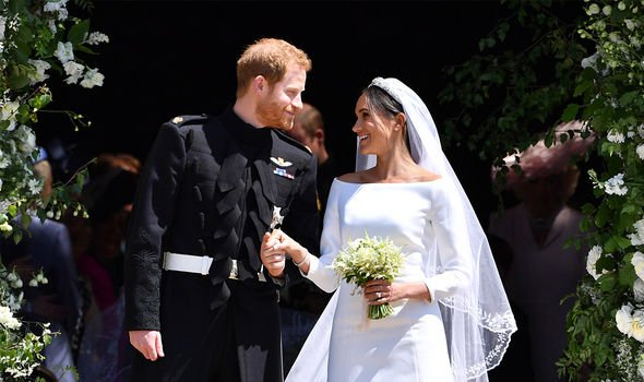 Meghan Markle and Prince Harry were married in May Image GETTY