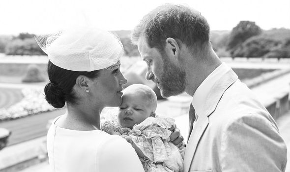 Meghan Markle and Prince Harry with their son baby Archie Harrison Image CHRIS ALLERTON AFPG etty Images