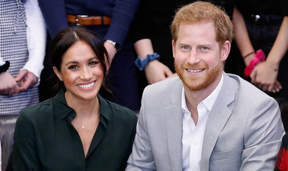 Meghan Markle and her husband Harry Image GETTY