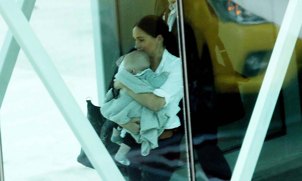 Meghan Markle and son Archie fly out of Cape Town after poignant secret visit Photo C GETTY IMAGES