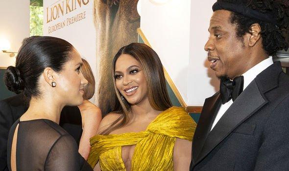 Meghan Markle meeting Beyonce Image GETTY