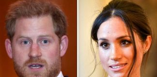 Meghan Markle news Prince Harry copies Duchess in breaking a serious royal rule Image GETTY