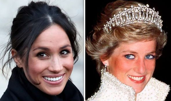 meghan markle cried watching princess diana s funeral tears down her cheeks dianalegacy latest update news images videos of british royal family dianalegacy
