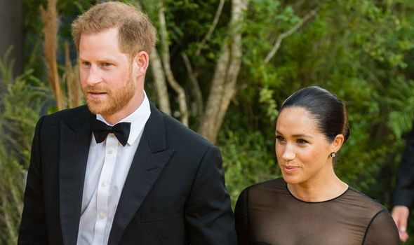 Meghan and Harry are under pressure to turn the tide of bad publicity with their Africa tour Image GETTY
