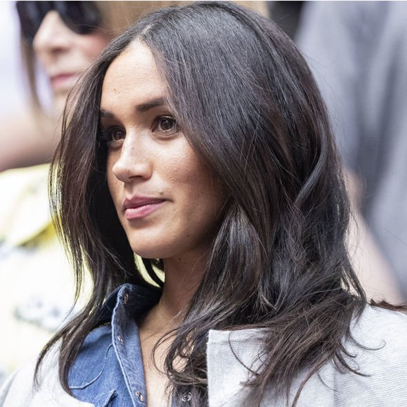 Meghan booked a last minute flight from Heathrow to New York to watch her pal on the court Image Andalou Agency